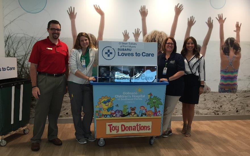 O'Brien Subaru Helps Cancer Patients
