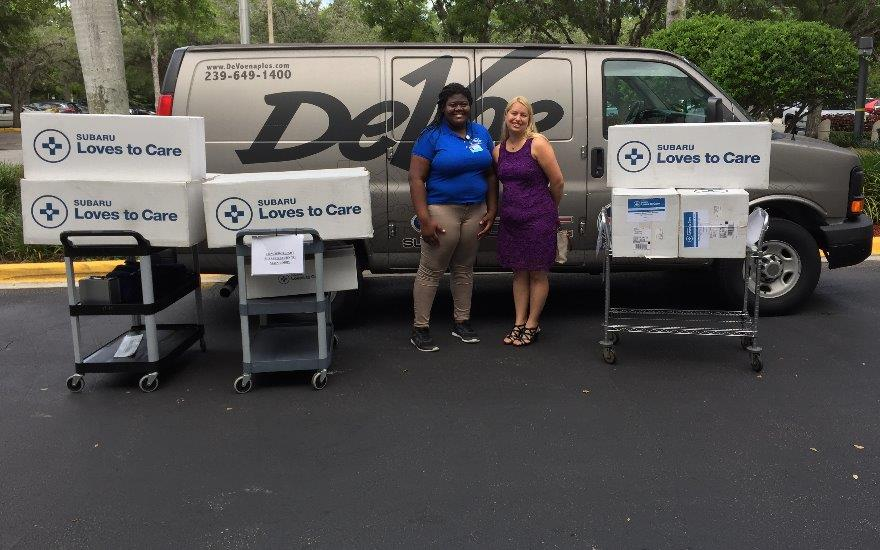 DeVoe Subaru Helps Cancer Patients