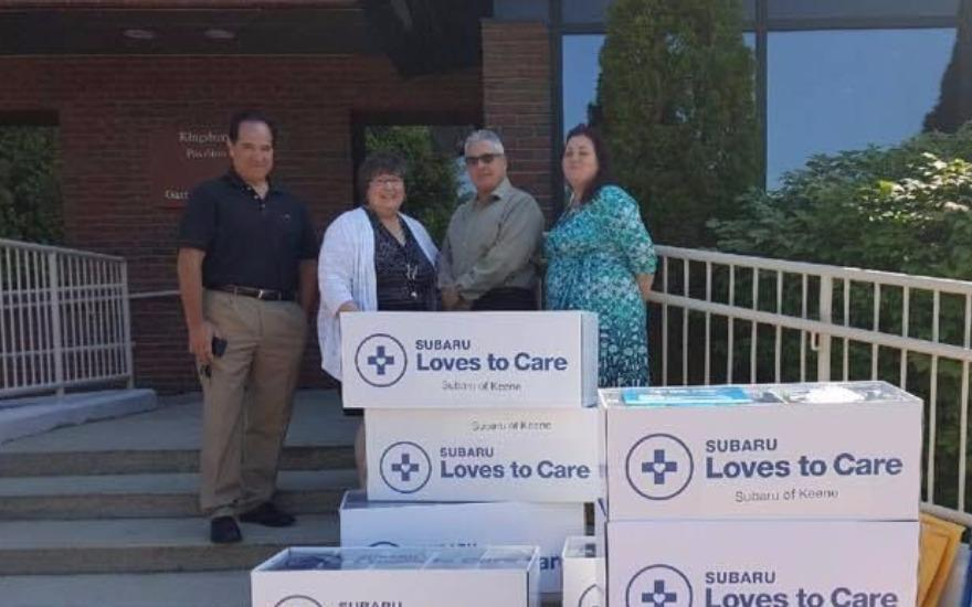 Spreading Warmth and Love to Cancer Patients