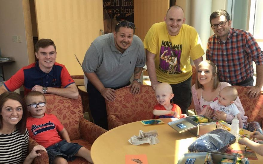 River City Donations Help Kids Fighting Cancer