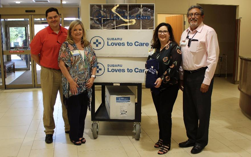 Subaru & LLS Bring Warmth to Cancer Patients