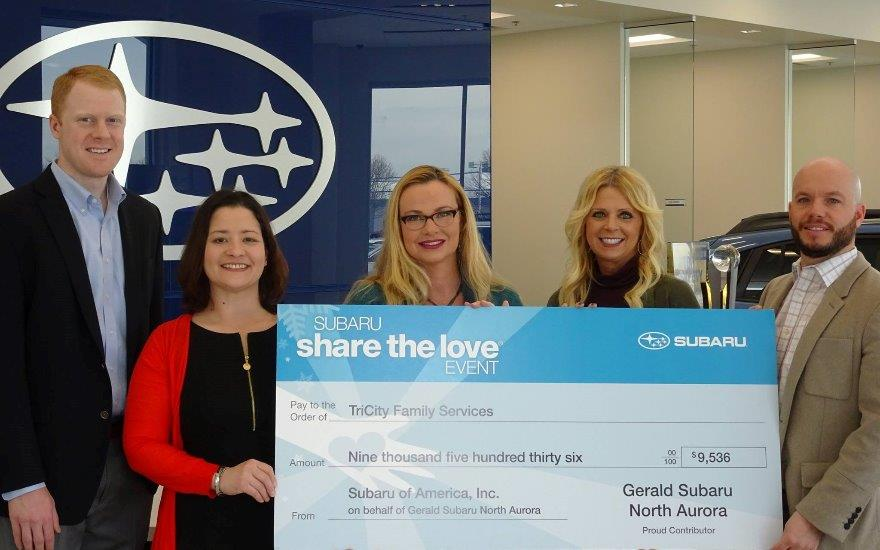 Gerald Subaru shares love with TCFS