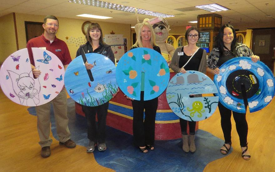 Donated IV poles bring fun to cancer patients