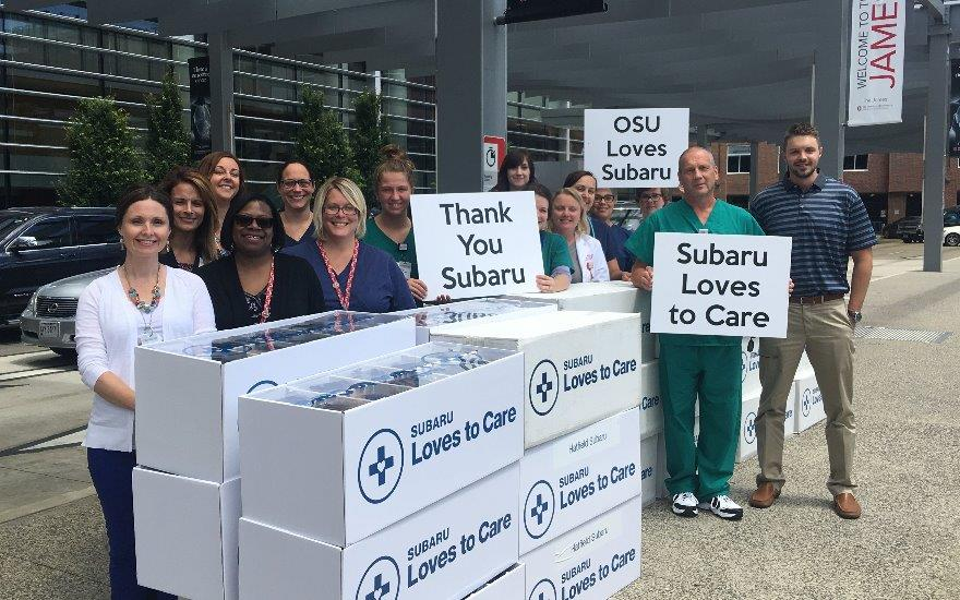 Huebner Subaru Supports Cancer Survivors