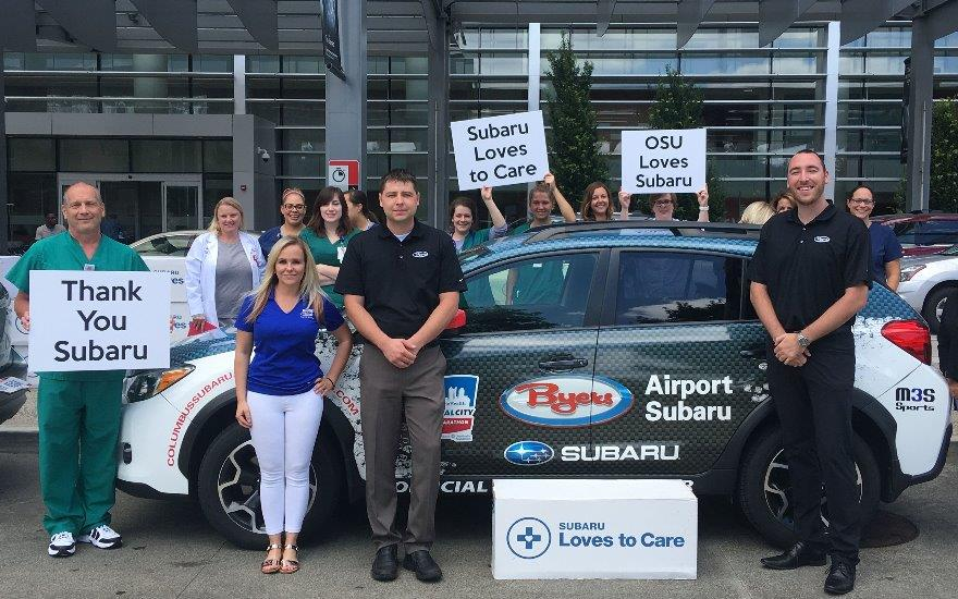Byers Airport Subaru Supports Cancer Surivivors