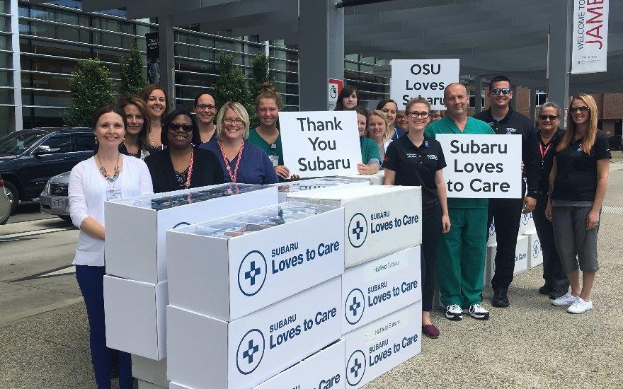 Hatfield Subaru Supports Cancer Survivors