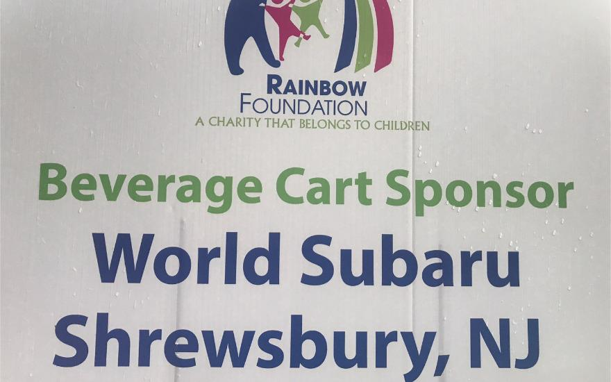 World Subaru supports the Rainbow Foundation