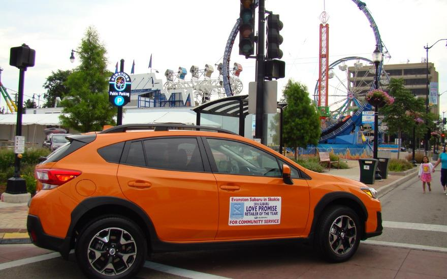 Subaru Crosstrek Highlights Skokie's Backlot Bash