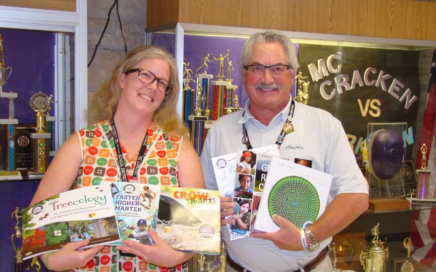 Evanston Subaru Donates Books to McCracken School