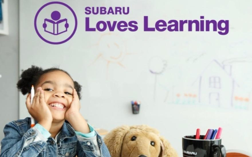 Subaru Antelope Valley Loves Learning