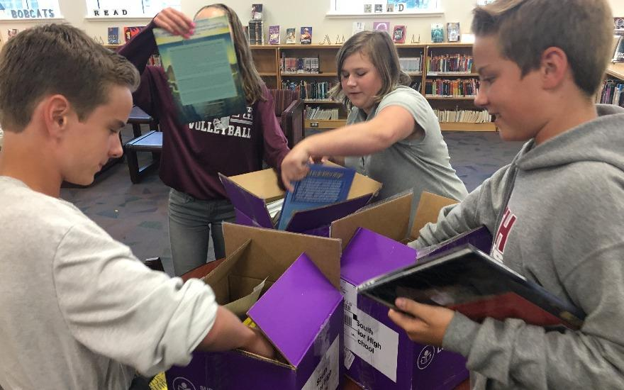 Subaru Loves Learning Local Book Donations
