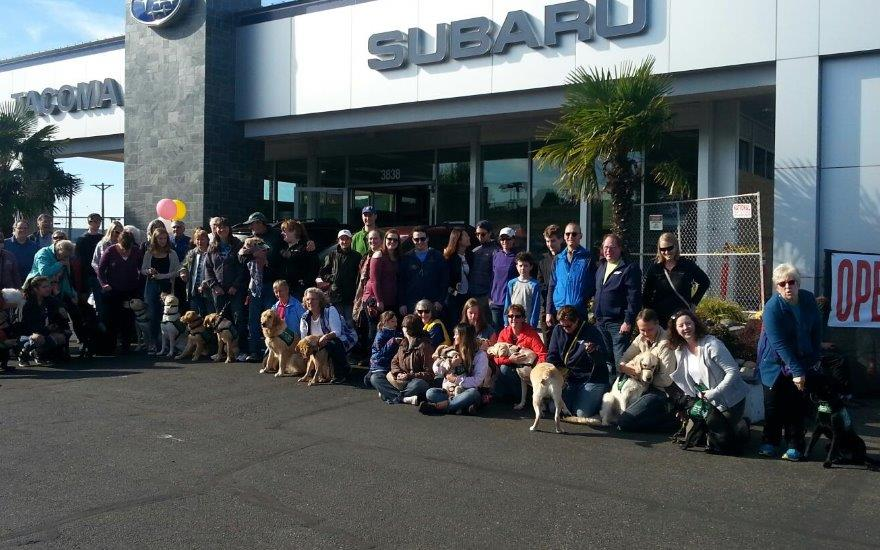 Tacoma Subaru loves Guide Puppies for the Blind