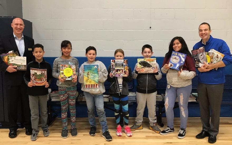 Ideal Elementary School - Book Donation