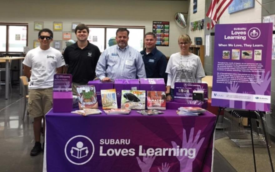 Subaru Loves Learning...and Giving To Little Mill