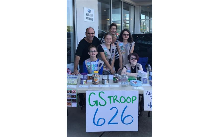 Troop 626 Spends the Day at Donaldsons Subaru