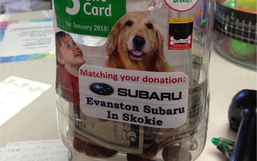 Evanston Subaru Matches Donations to Help Pets