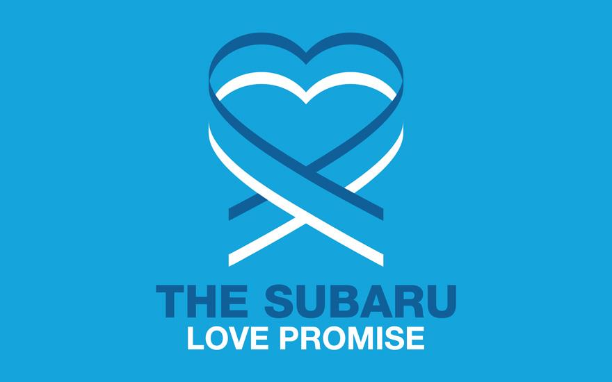 Brown Subaru Shows the Love!