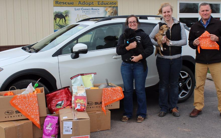 Supply Drive for Last Chance Ranch Animal Rescue