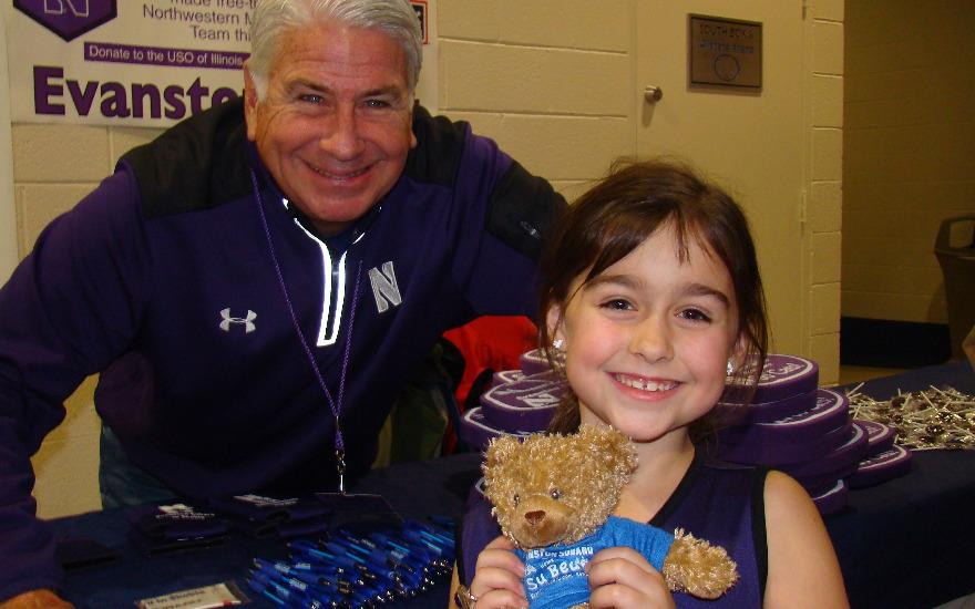 Sharing the Love at Northwestern Basketball