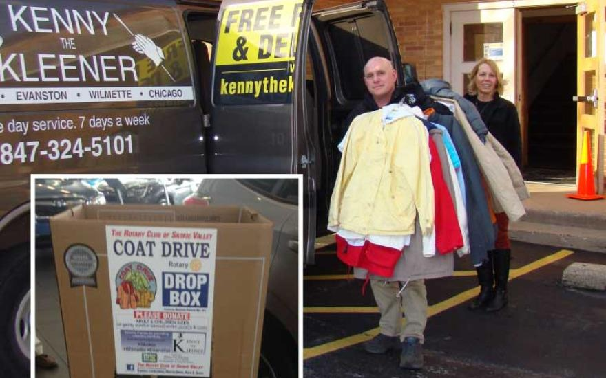 Rotary Coat Drive A Great Success