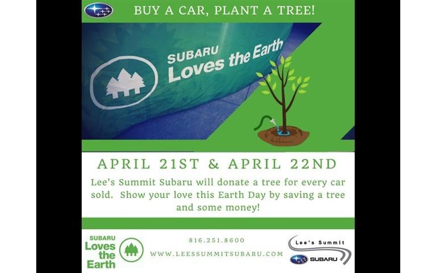 Saving the trees one Subaru at a time!