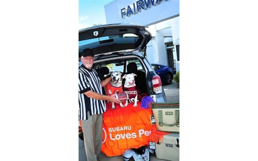 Fairway Subaru Really Does Love Pets!