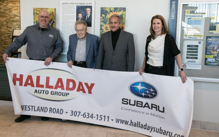 Halladay Subaru Helping LCCC Students!