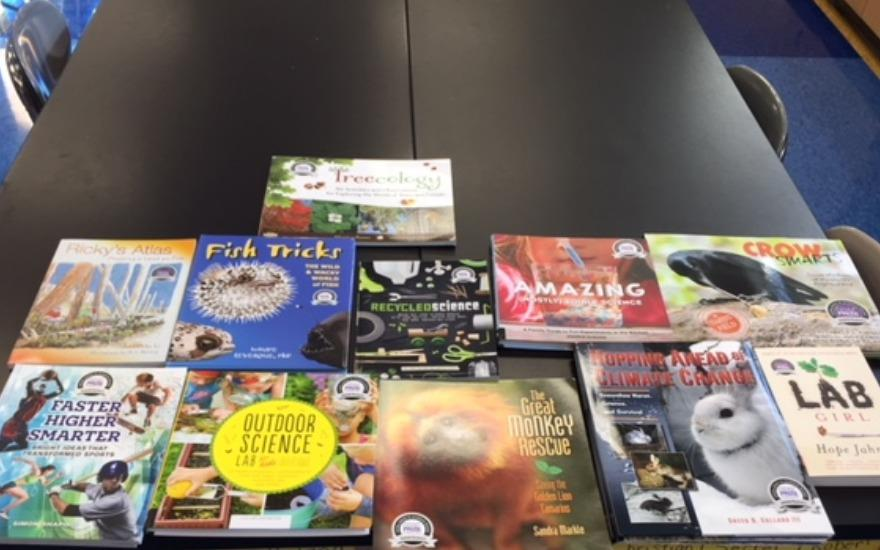 STEM books for our Classroom Libraries