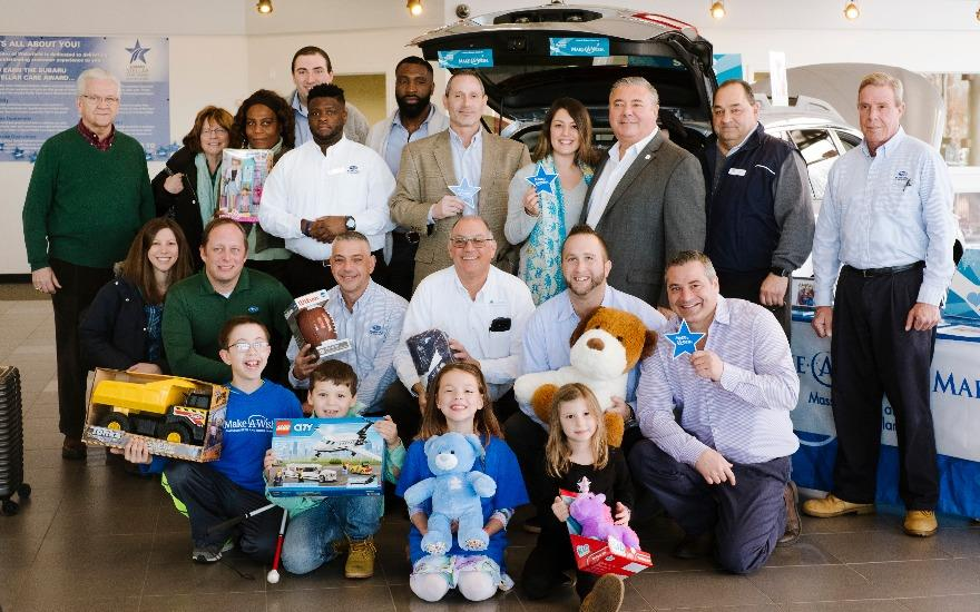 Subaru of Wakefield Supports Make-A-Wish