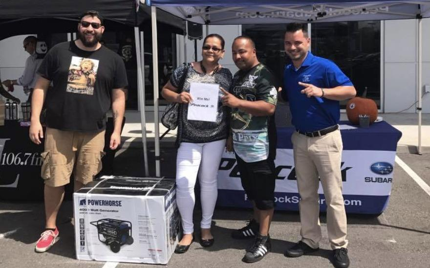 Dealership donates to hurricane relief efforts