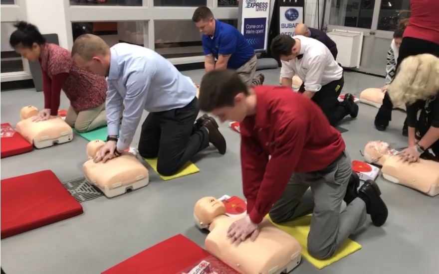 CPR Training at Faulkner Subaru Bethlehem