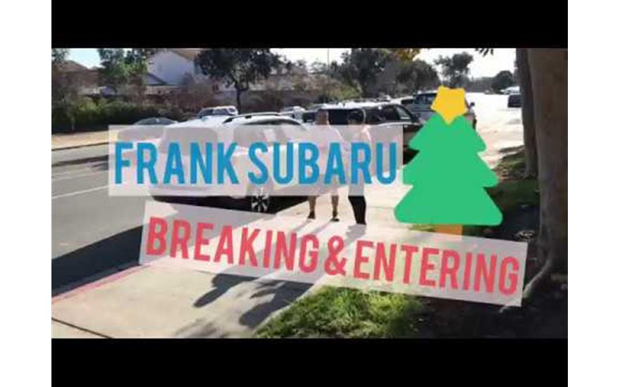 Breaking & Entering Christmas