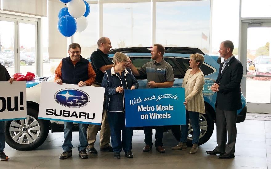 2018 Subaru Outback for Metro Meals on Wheels