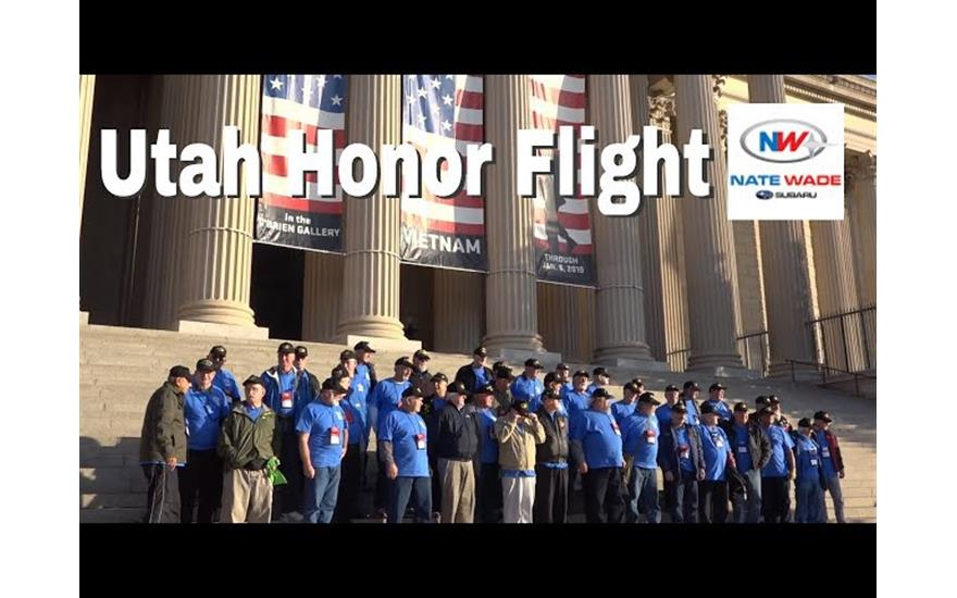 Nate Wade Subaru Sponsors Utah Honor Flight