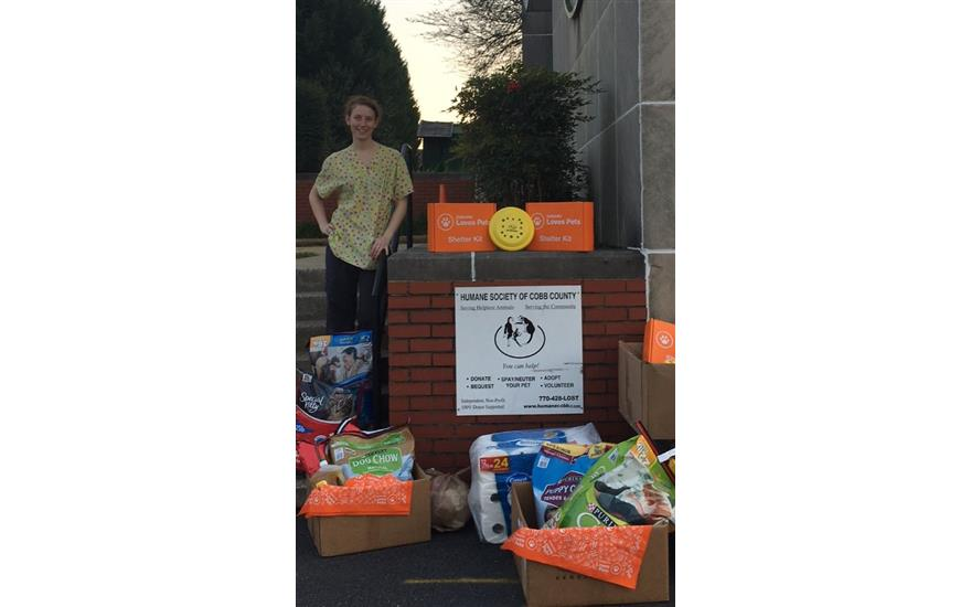 Donations to the Humane Society of Cobb County