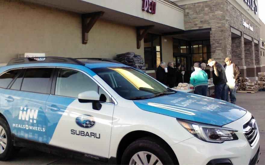 Subaru brings Meals on Wheels of Elkins to life.