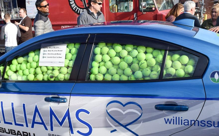 Williams Subaru has a ball with ACEing Autism