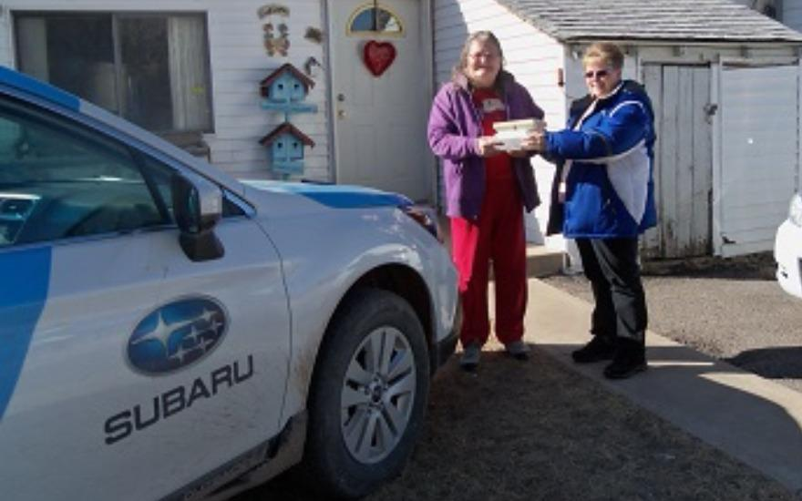Uinta Senior Center Loves our Subaru