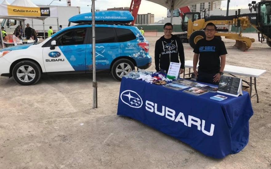Subaru of Las Vegas Loves to Care