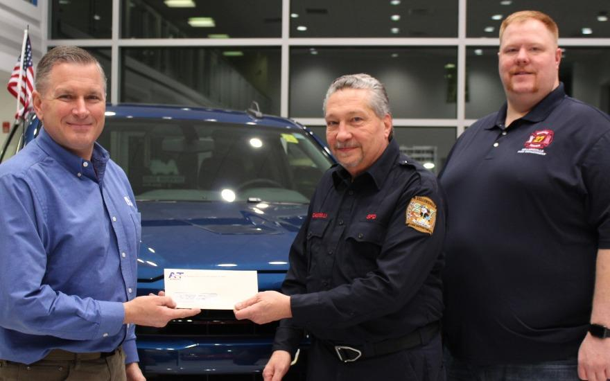 A&T Subaru Supports First Responders