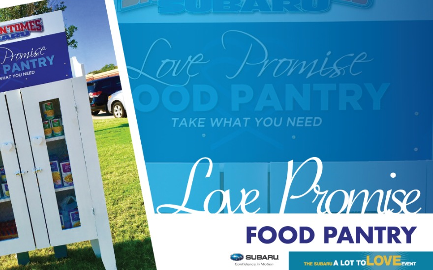 Subaru feeds community with Tomes Pantry