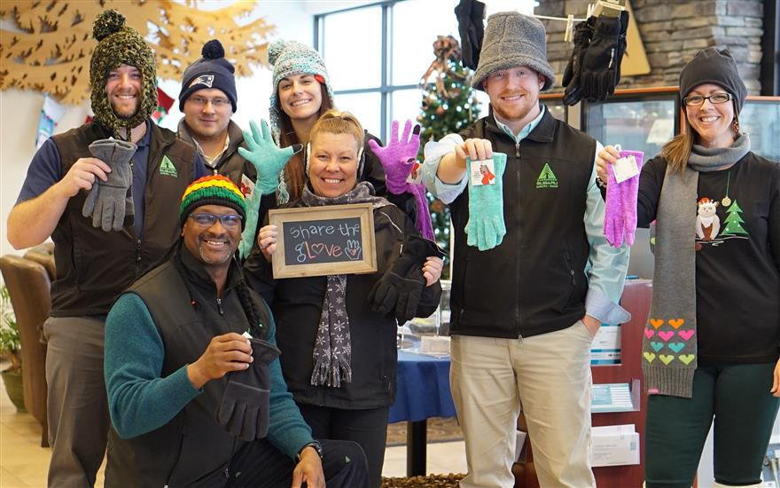 Evergreen Subaru steps up to help families in need