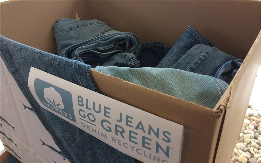 Mitchell Subaru Collects Denim for a Cause