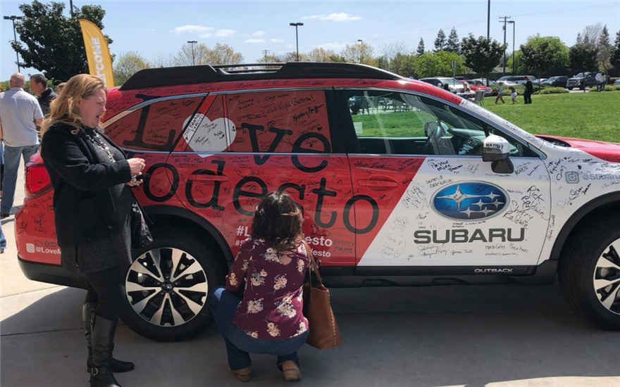 Subaru Loves Modesto