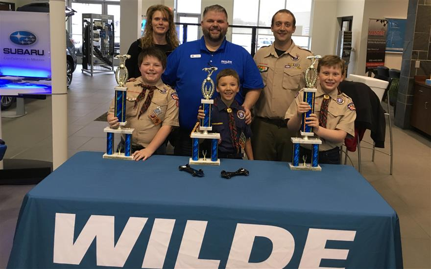 Boy Scouts of America Pinewood Derby