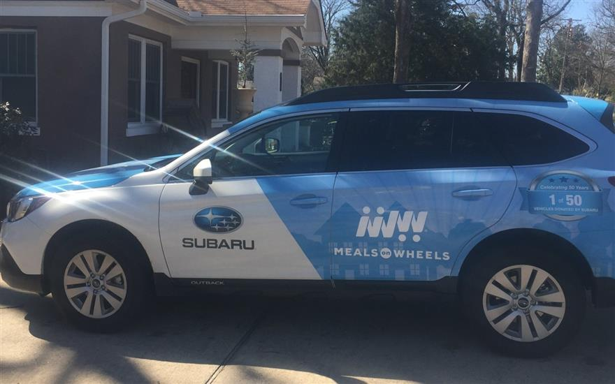 New Subaru Replaces Old Vehicle