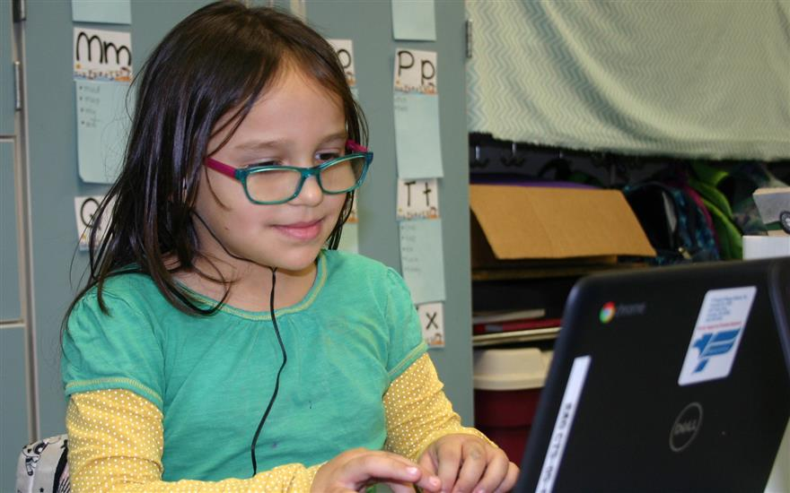 New Chromebooks Connect Students to the World