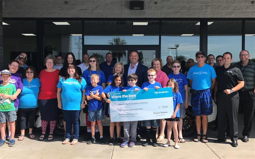 Make A Wish Check Presentation