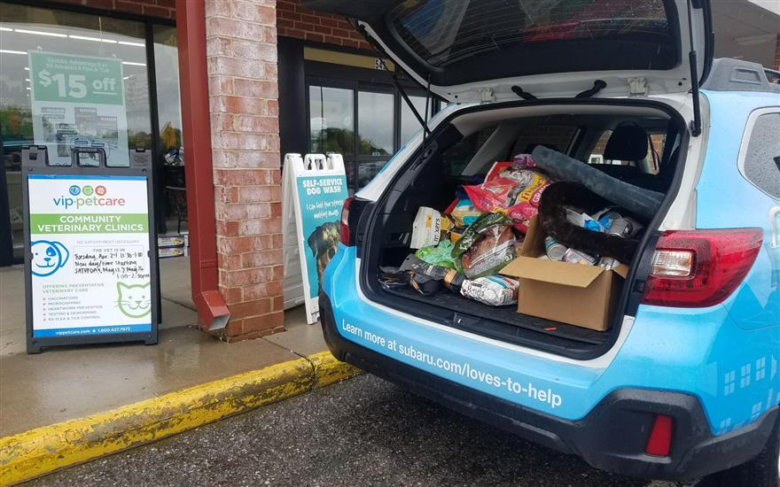 Smoky Mountain AniMeals on Wheels Thanks Subaru