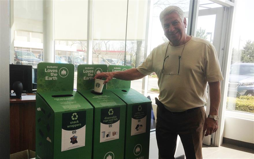 Evanston Subaru Recycles to Improve our Parks